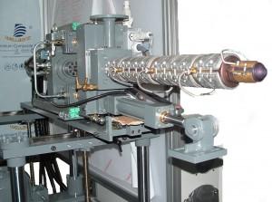 Iniettore ausiliario HI50 su basamento regolabile